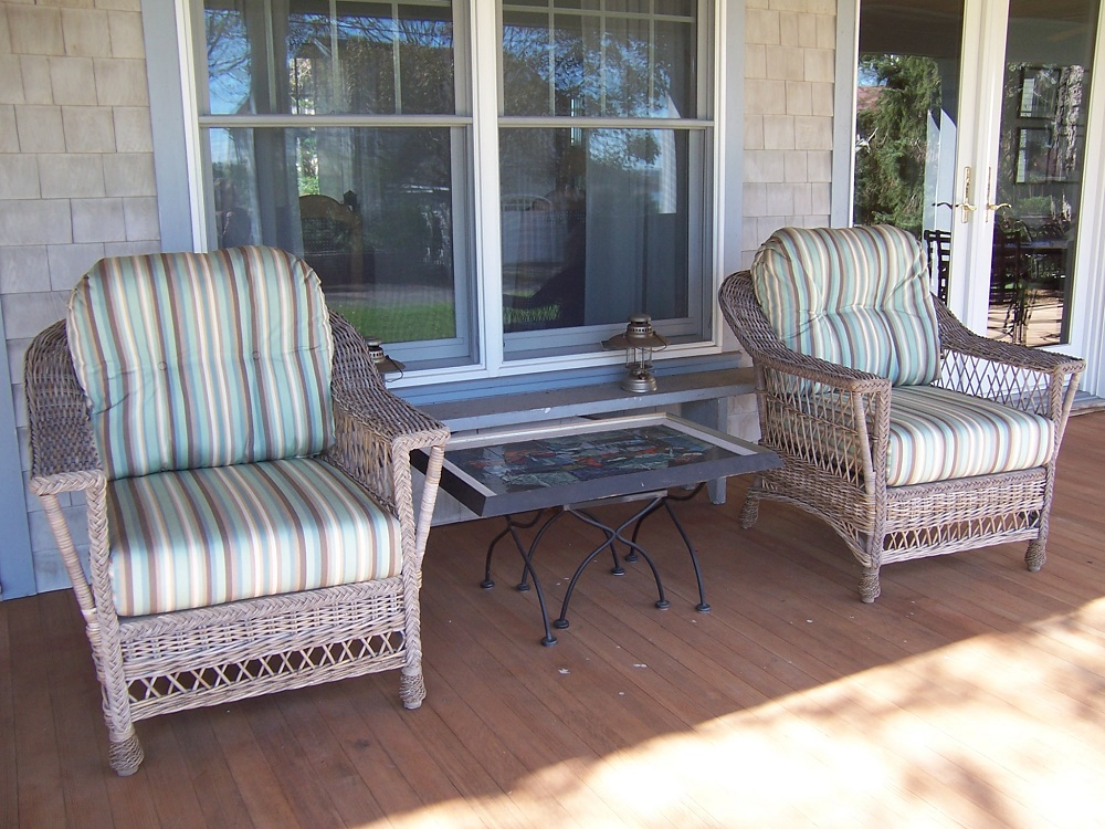 Bar Harbor Loveseat Quality Wicker And Rattan Furniture