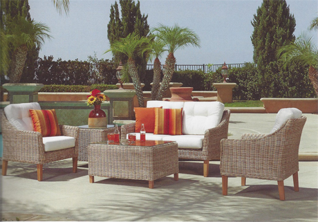 Cambria Seating Group Quality Wicker And Rattan Furniture